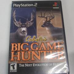Cabela's Big Game Hunter (PS2) Manual not Included