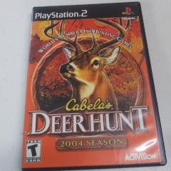 Cabela's Deer Hunt 2004 (PS2) Manual Included