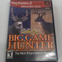 Cabela's Big Game Hunter [Greatest Hits] (PS2) Manual Included