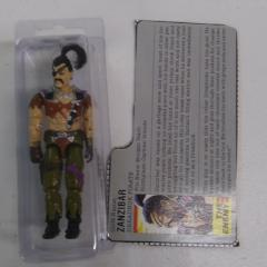 1987 Hasbro 3 3/4 G.I. Joe Dreadnok ZANZIBAR (New O-Ring)