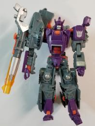 Galvatron DELUXE CLASS Universe 2 Transformers GREY TANK
