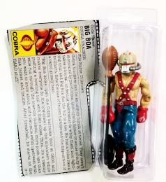 GI Joe Figure Big Boa (New O-Ring)