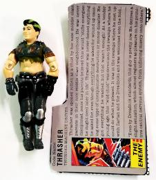 GI Joe Hasbro Thrasher 1986 (New O-Ring)