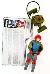 GI Joe 1987 Fast Draw (New O-Ring)