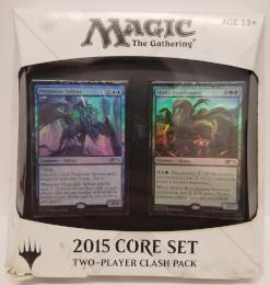 MTG Magic the Gathering Card Game M15 2015 Core Set - 2-Player CLASH PACK Decks