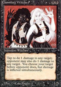 Magic the gathering Cuombajj Witches (nonfoil) Arabian Nights