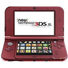New Nintendo 3DS XL Red (Pre-Owned)