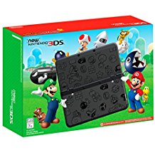 New Nintendo 3DS XL Super Mario Black Edition (Pre-Owned)