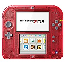 Nintendo 2DS Crystal Red (Pre-Owned)