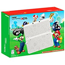 New Nintendo 3DS XL Super Mario White Edition (Pre-Owned)