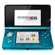 Nintendo 3DS Aqua Blue (Pre-Owned)