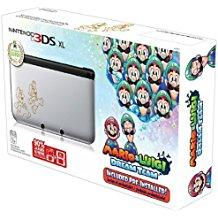 Nintendo 3DS Silver Mario & Luigi Limited Edition (Pre-Owned)