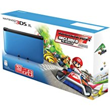 Nintendo 3DS XL Mario Kart Black/Blue Limited Edition (Pre-Owned)