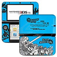 Nintendo 3DS XL Blue Super Smash Limited Edition (Pre-Owned)