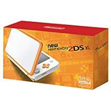 New Nintendo 2DS XL White & Orange (Pre-Owned)