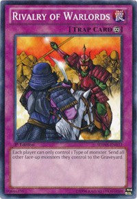 Yugioh Rivalry of Warlords (nonfoil) 1st edition