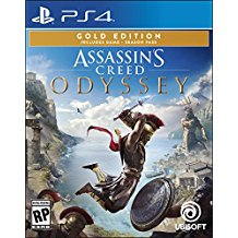 ASSASSINS CREED ODYSSEY GOLD STEELBOOK EDITION