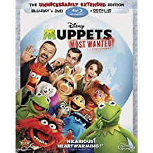 Muppets Most Wanted (DVD) (Brand New)