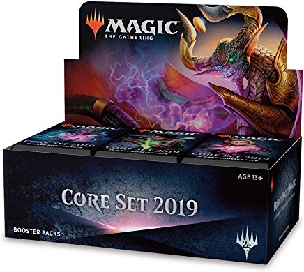 Core Set 2019 (M19) Booster Box (36 Booster Packs) Magic The gathering