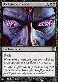 Magic the gathering Dictate of Erebos (nonfoil)