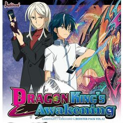 "CARDFIGHT!! VANGUARD: G BOOSTER 12 - ""DRAGON KING'S AWAKENING"""