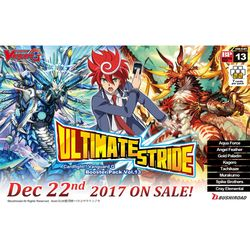 "CARDFIGHT!! VANGUARD: G BOOSTER 13 - ""ULTIMATE STRIDE"""