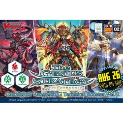 "CARDFIGHT!! VANGUARD: G TECHNICAL BOOSTER - ""THE GENIUS STRATEGY"""