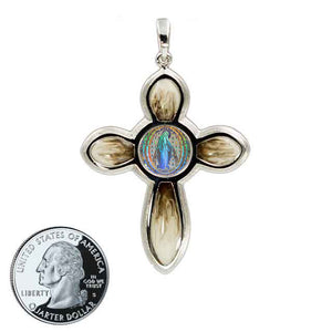 Miraculous Medal Cross