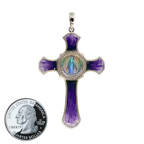 Miraculous Medal Cross 10