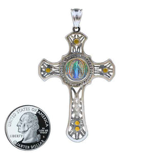 Miraculous Medal Cross 11