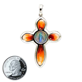 Miraculous Medal Cross 2