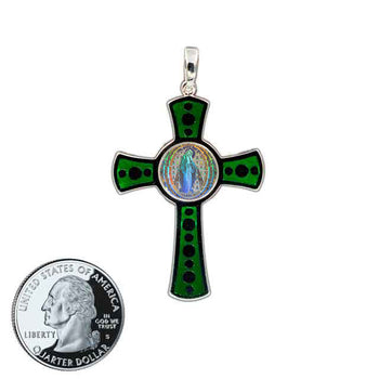 Miraculous Medal Cross 3