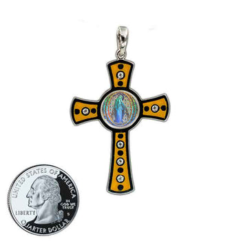 Miraculous Medal Cross 4