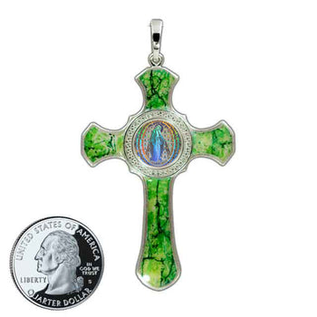 Miraculous Medal Cross 5