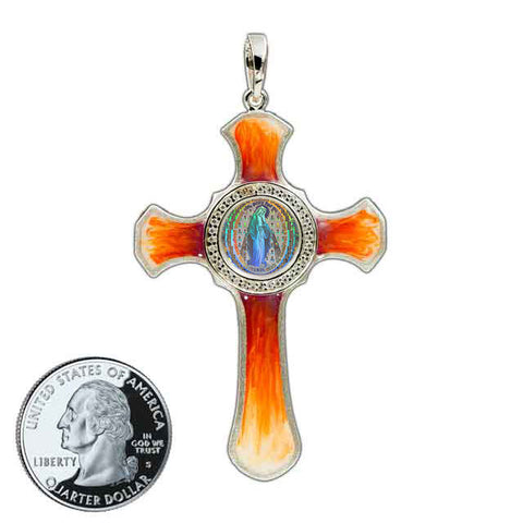 Miraculous Medal Cross 6
