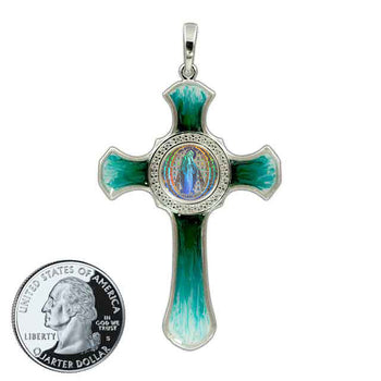 Miraculous Medal Cross 7