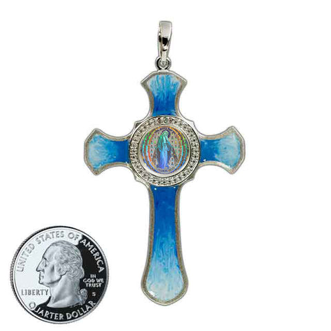 Miraculous Medal Cross 8