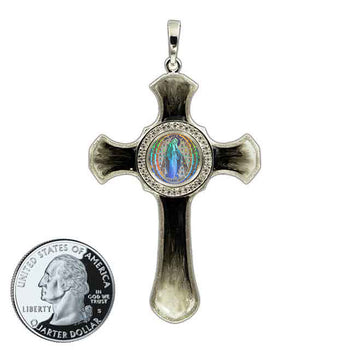 Miraculous Medal Cross 9