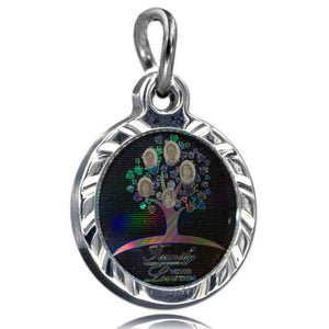 Nano Family Tree 304 SS Pendant