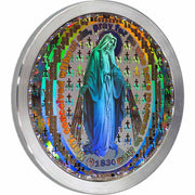 Nano Miraculous Medal with New Testament