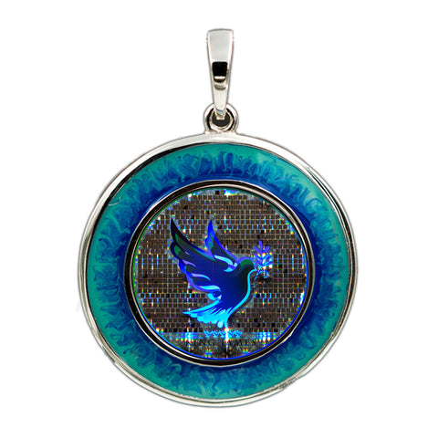 Dove Bible Pendant