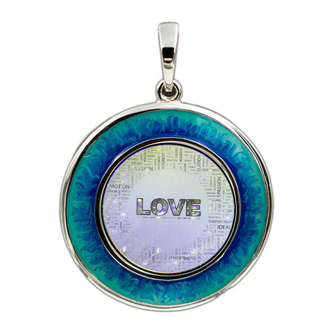 Love Collage Pendant
