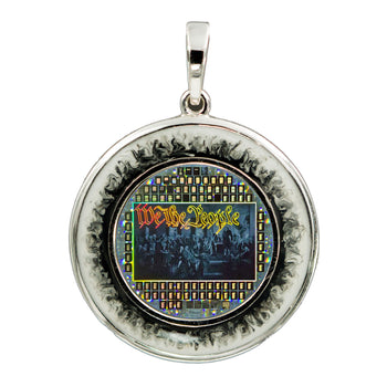 US Constitution Pendant 2