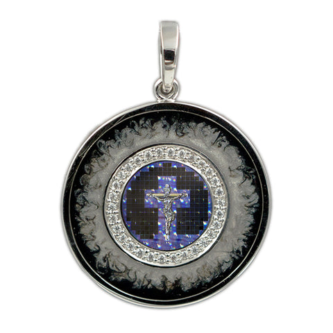 Galaxy Cross Pendant 3