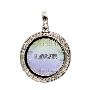 Love Collage Pendant 5