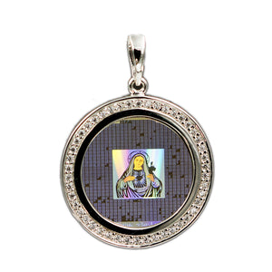 Virgin Mary Bible Pendant 5