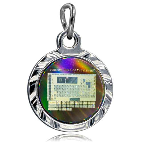 Nano Periodic Table 304 SS Pendant
