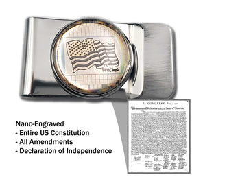 Nano U.S. Constitution Money Clip