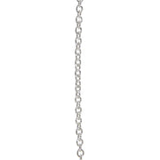 Chain Solid Sterling Silver Curb 1.4mm thick