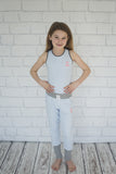 Girls Icy Blue Trackpant
